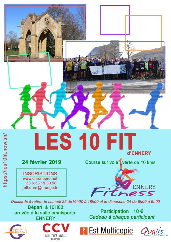 FLYER LES 10 FIT 2019 600x849